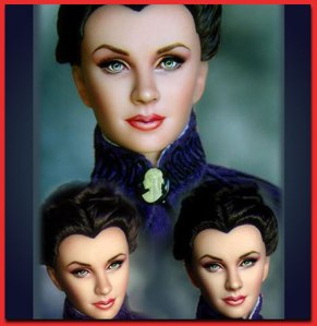 Scarlett O'Hara by Laurie Leigh