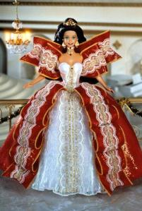 1997 Happy Holidays Barbie - 1990s