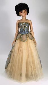 Rosmary Ionker OOAK Gown for Ellowyne Wilde - Bidding opens at $200