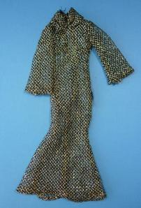 Starlight Gold Outfit for MEGO's Cher on dollbid