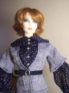Tailored Suit for JAMIEshow dolls by Katz Meow Designs