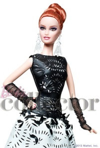 Laser Leatherette Barbie Fan Club Platinum Exclusive